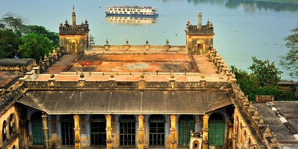 ABN Rajmahal from Hooghly Imambara, Bengal, India
