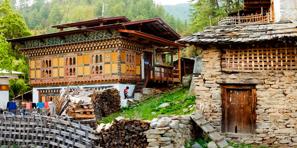 Bhutanese Farmhouse, Bhutan
