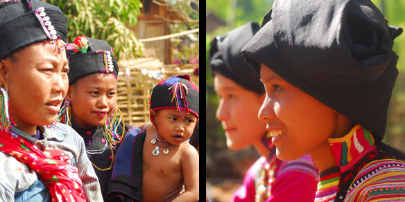 People from hill tribe, Northern Thailand