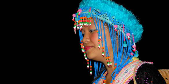 Hmong woman, Northern Thailand