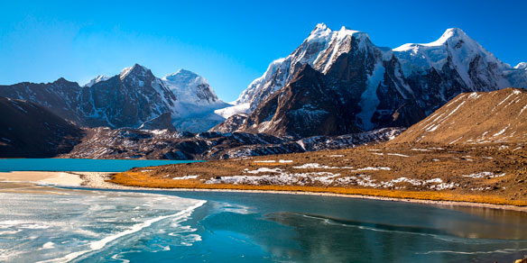 Gurudongmar Lake, North Sikkim, India