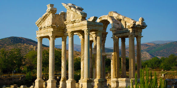Ancient Roman Aphrodisias, Turkey