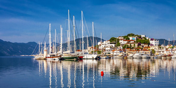 Marmaris Marina, Turkey