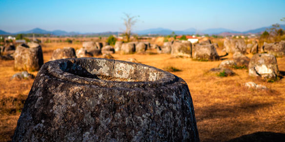 UNESCO Plain of Jars, Phonsavan, Laos
