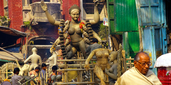 Hindu culture, Kolkata, West Bengal, India