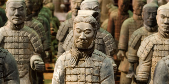 Tomb Warrior Statues, Qin Dynasty, China