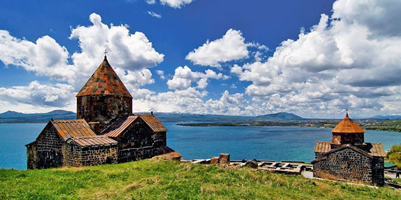 "Lake Sevan, the ""Pearl of Armenia"", Armenia"