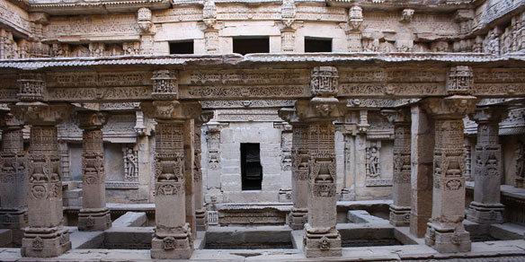 Queen Udaymati's Step Well, Gujarat, India