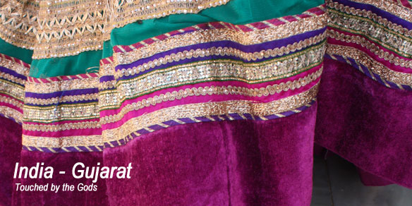 Typical Gujarati Textile, Gujarat, India